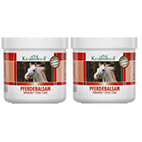 Kräuterhof Balsamo del cavallo gel riscaldante extra forte 2 confezioni da 250ml