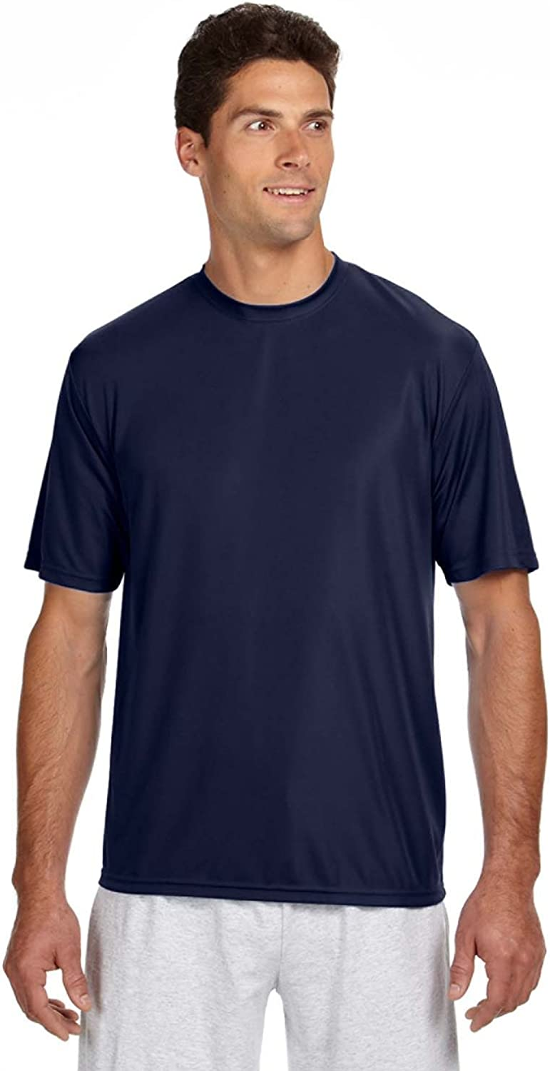 A4 Adult Cooling Performance T-Shirt, NVY, XXX-Large
