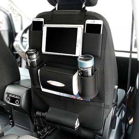 Organizador para asiento trasero del coche. Protectores de piel ...