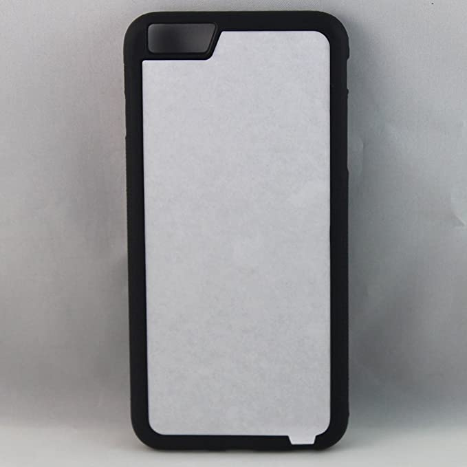 huge discount 2c936 f2c81 Amazon.com: Apple iPhone 6/6s Rubber/Plastic - Black/White - DIY ...