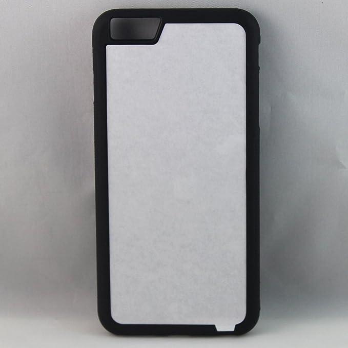 huge discount 4a9bd eb2bc Amazon.com: Apple iPhone 6/6s Rubber/Plastic - Black/White - DIY ...
