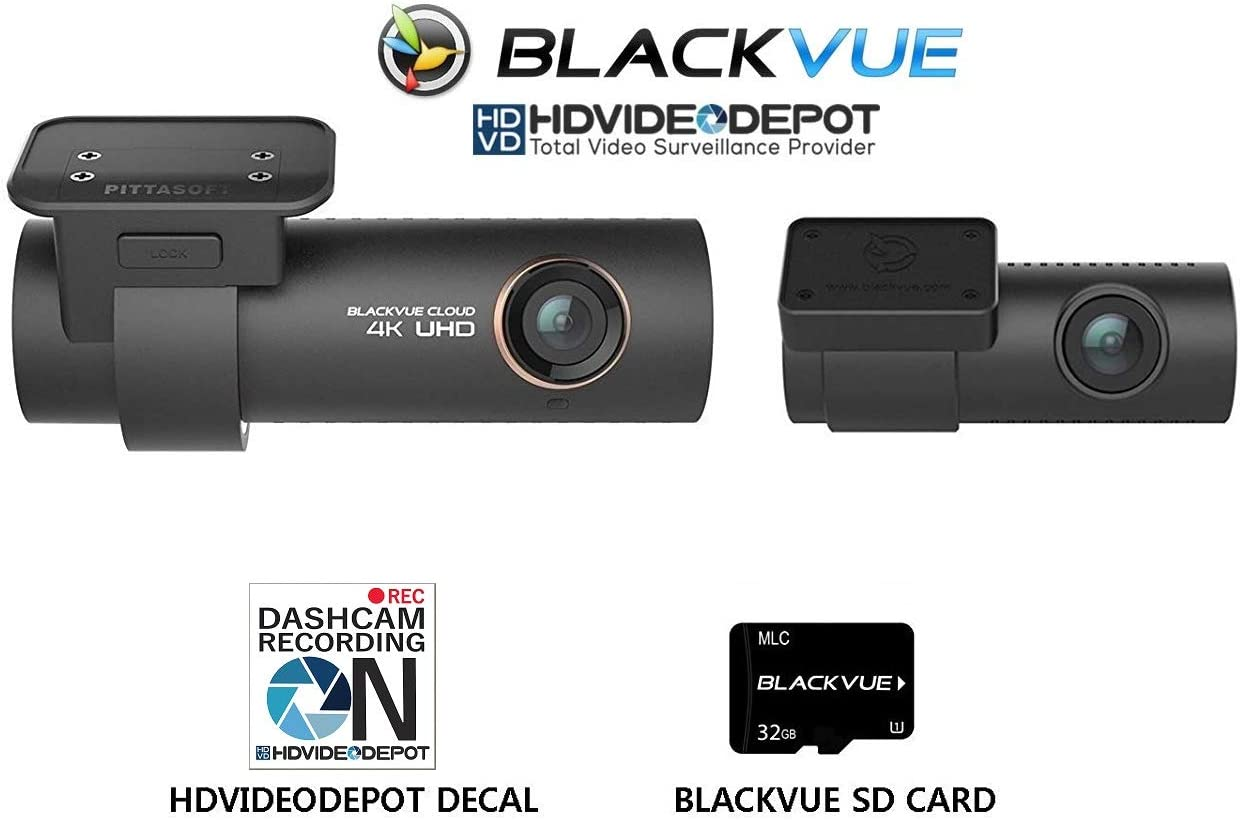 Blackvue DR900S-2CH 32GB 2-Channel | 4K Dashcam | Wi-Fi (32GB)