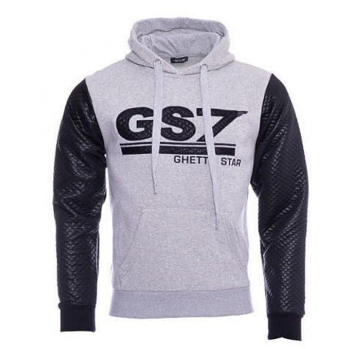 GS7 GS7-Sudadera gris, niños, talla 10 a 14 años y 10 años de 12 años, a partir de 14 años gris 14 años: Amazon.es: Ropa y accesorios
