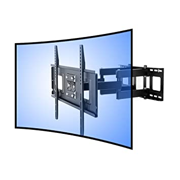 Fleximounts Cr1 Soporte De Pared Para Tv Curvo Cuadra A Televisor