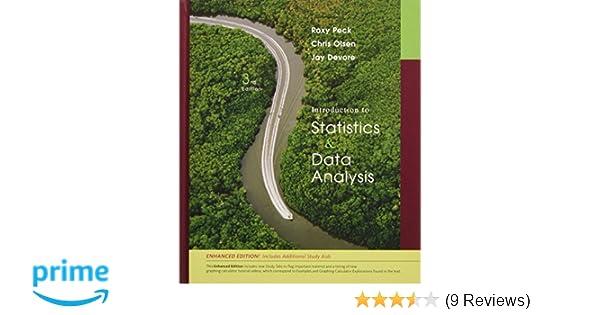 Amazon Introduction To Statistics And Data Analysis