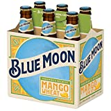 Blue Moon Mango Wheat Beer 5.3% ABV, 12 oz, 6 ct