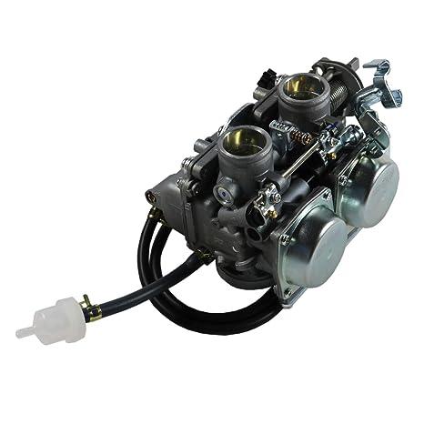 F/&R POSI QUIET CERAMIC Pads BSK85194 BRAKENETIC SPORT Drill Slot Brake Rotors