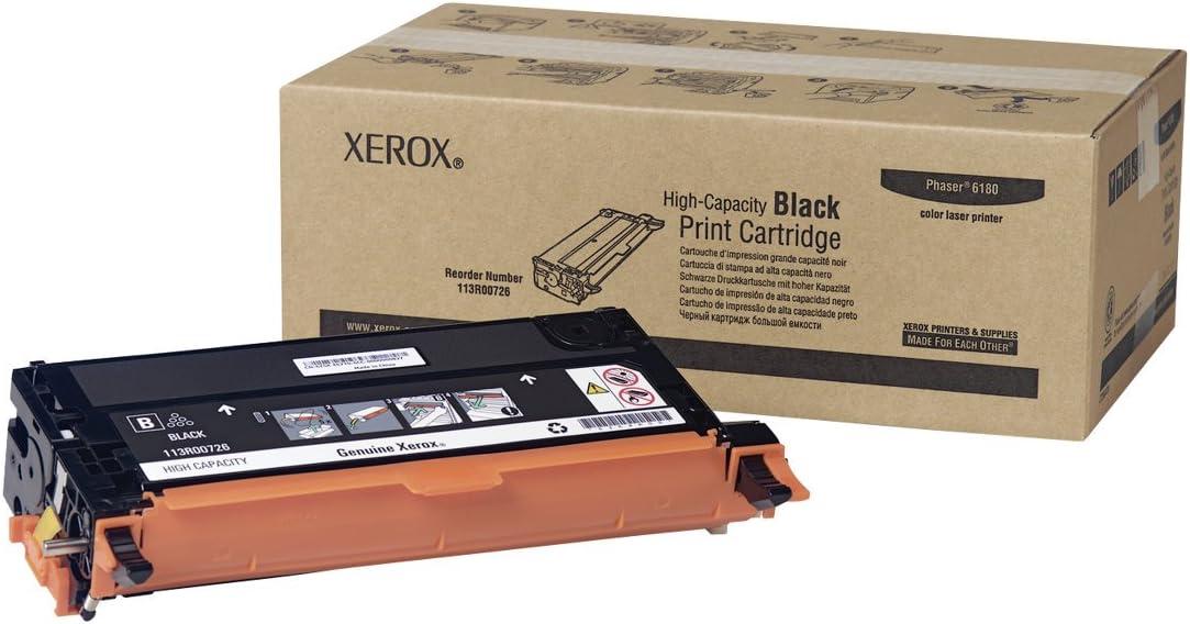 Xerox 113r00726 Phaser 6180 Tonerkartusche Hohe Kapazität 8 000 Seiten Schwarz Bürobedarf Schreibwaren