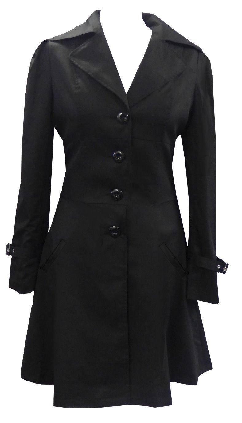 Classic Cotton Gothic Steam Punk Corset Riding Jacket Coat PlUS Sizes 6-26. DangerousFX