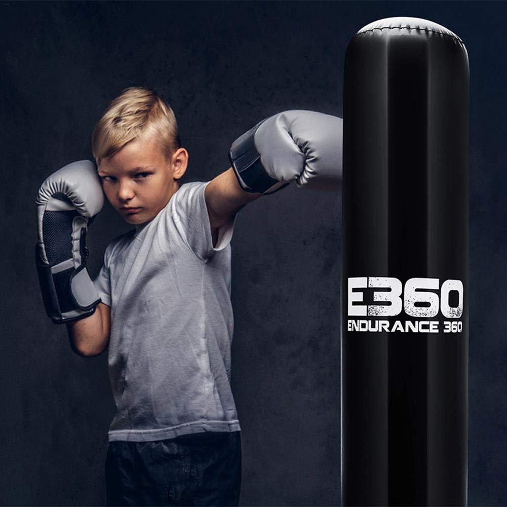 Sacos de Suelo, Saco de Boxeo de Boxeo Independiente, Saco de Boxeo de 160 cm, Bolsa de Pesas para Ejercicio físico Que Reduce la presión con una ...