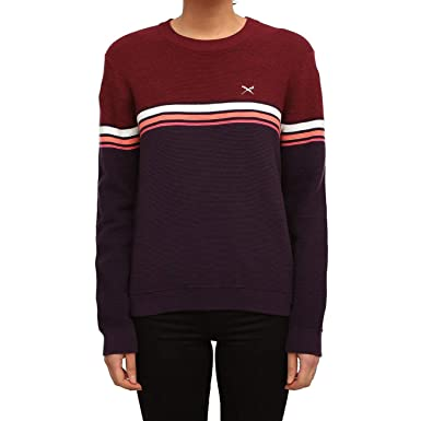 Pull Femme Rouge Iriedaily Small Marron BdxCero