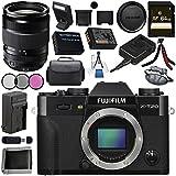 Fujifilm X-T20 Mirrorless Digital Camera (Black) 16542490 XF 18-135mm f/3.5-5.6 R LM OIS WR Lens 1642853 Bundle