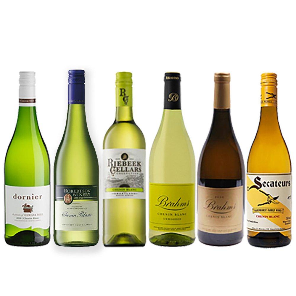 南アフリカ シュナンブラン ワインセット 6本セット 白ワイン 750ml 飲み比べ 白ワイン 6本セット 750ml B075GD8HK2, 飯山町:939711e0 --- yogabeach.store