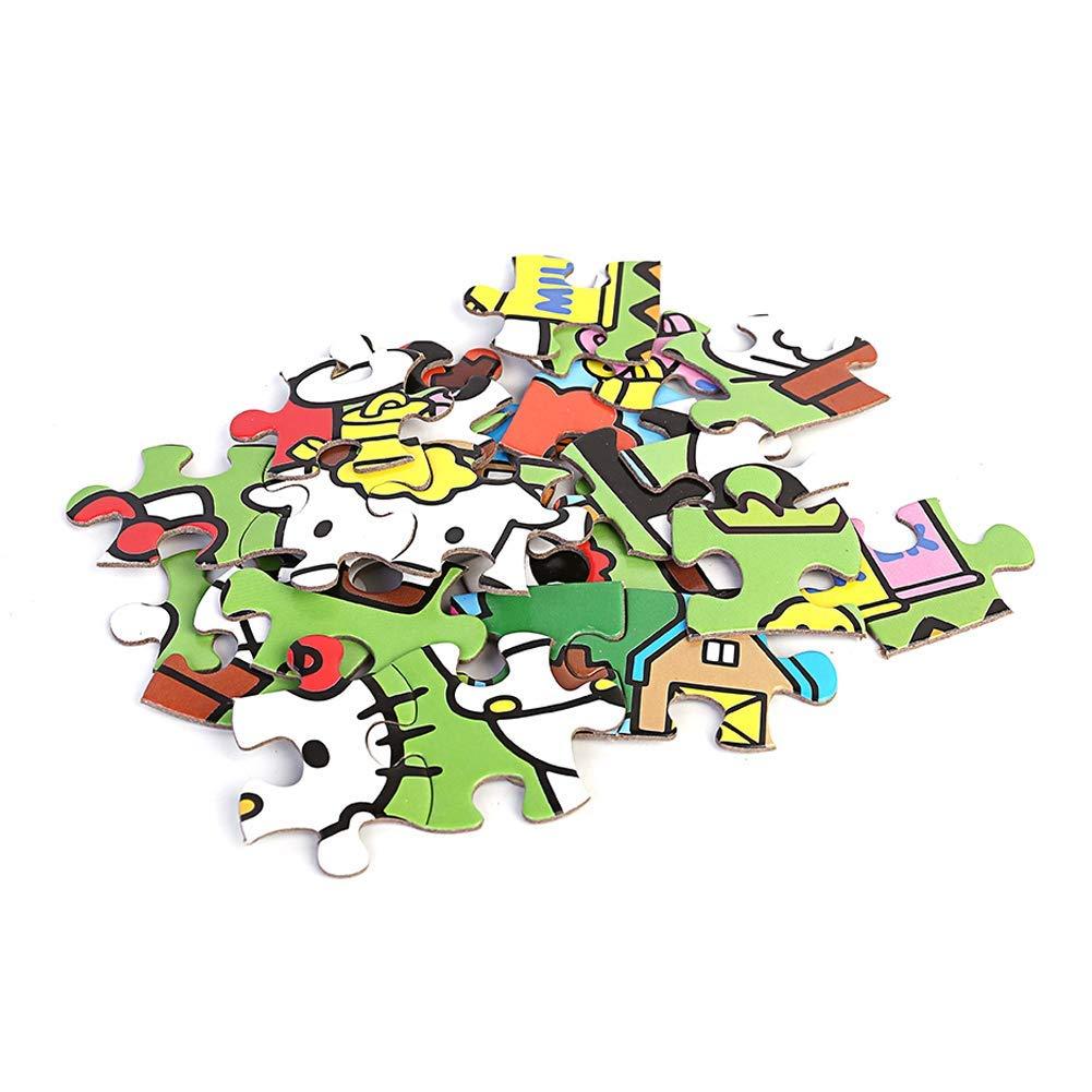 Disney 100 St/ück s/ü/ßes Puzzle Spielzeug f/ür Kinder M/ädchen lernen und Unterhaltung Auto Mobilisierung gute Wahl f/ür Geburtstagsgeschenke gemischte Farbe Puzzle Spielzeug f/ür die Altersgruppen 4-8