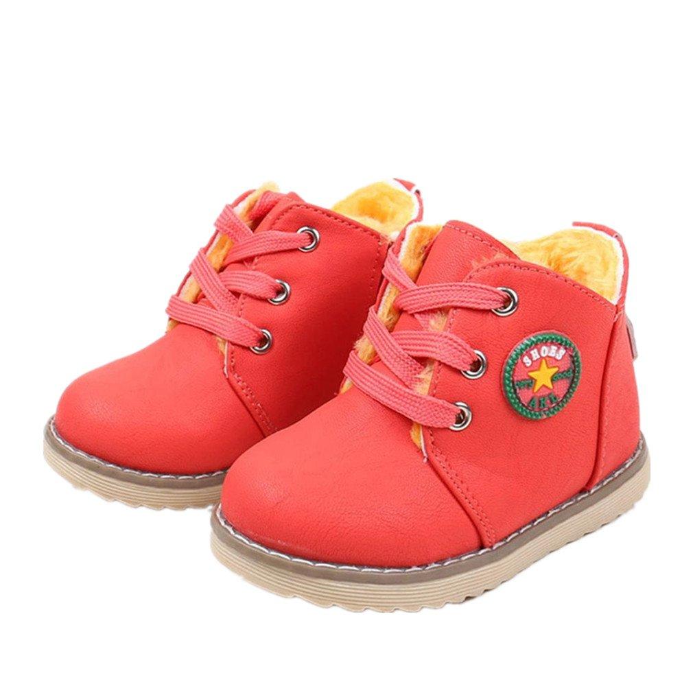 QinMM Kinder Schuhe Jungen MäDchen Sport Schuhe Baby Fashion Kids Turnschuhe 21-30 12