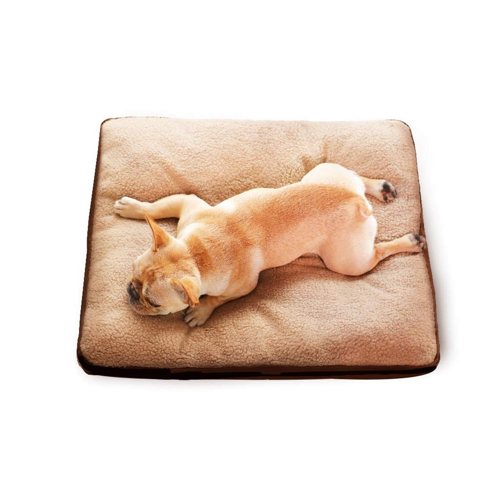 XL(120×90×14CM 45kg) Dog Bed Large Mat, Mattress Non Slip Washable Cushion Pad for Pets Sleeping, for Travel and Training Mat (Size   XL(120×90×14CM 45kg))