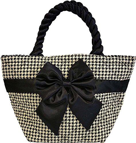 Thai Cotton Handbag Black