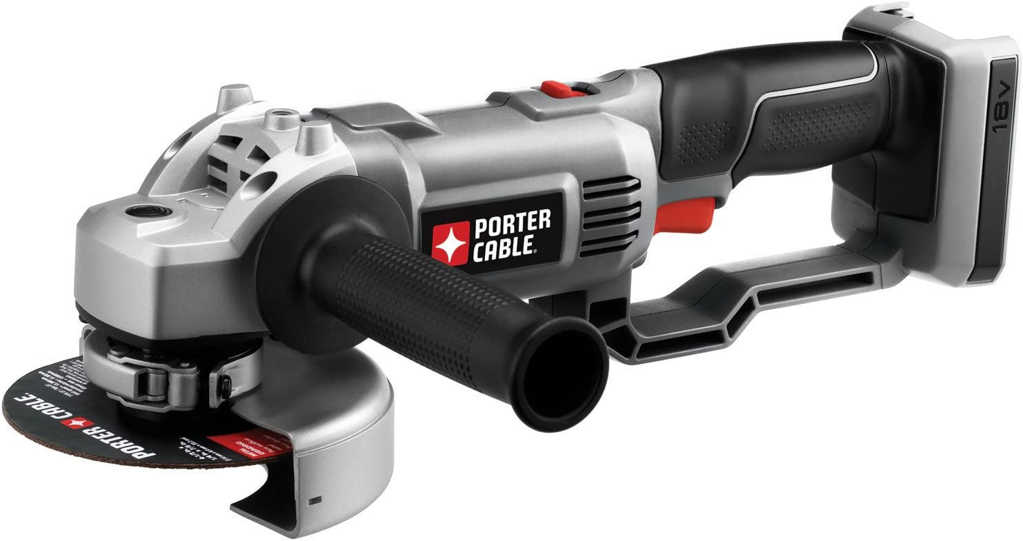 PORTER-CABLE Li-Ion 4.5-in Compact Portable Cordless Angle Grinder Cut Off Tool