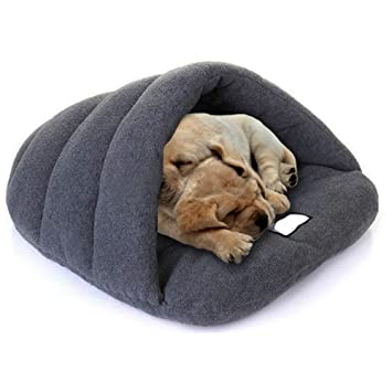 Comficent Casa para Mascotas y Sofá Interiores y Exteriores Portátil de Cama para Perro Gato. (L, Gris): Amazon.es: Productos para mascotas
