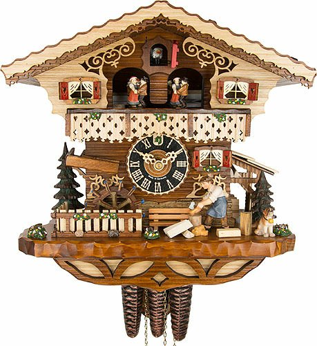(Cuckoo Clock 1-day-movement Chalet-Style 29cm by Hönes )