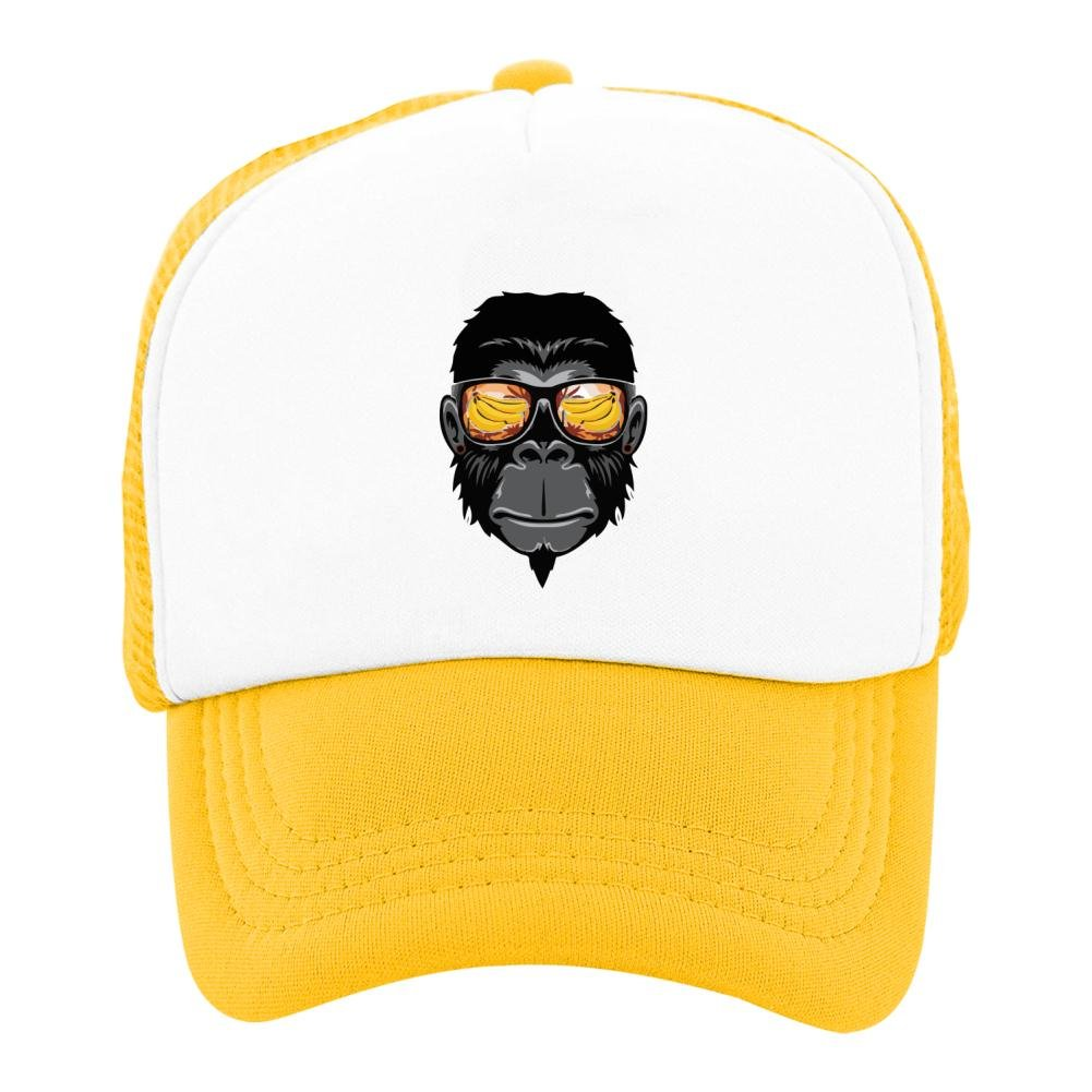 Kids Baseball Cap Hawaii Monkey Classic Mesh Outdoor Hat