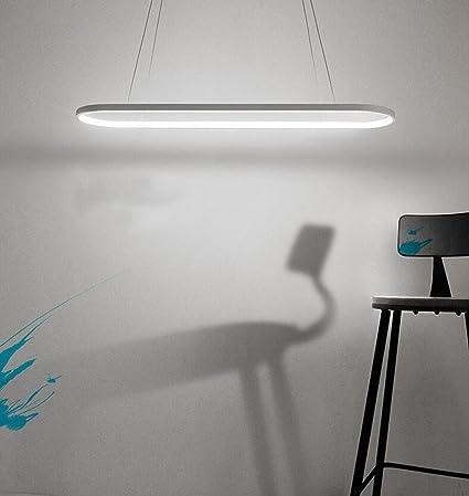 Creativo moderno delgado luces LED colgante suspensión de ...