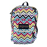 Kyпить JanSport Unisex Big Student Multi Saucy Chevron Backpack на Amazon.com