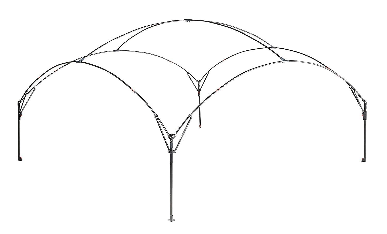 Coleman Fast Pitch Shelter XL 4,5 x 4,5 m, con Varillas de Acero, Gazebo, protecci/ón Solar, SPF 50+ Color Gris Claro y Azul Cenador