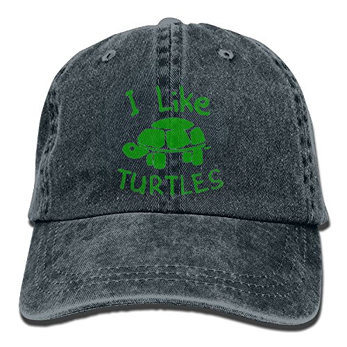 TTLYY Like This Turtles Washed Retro Cowboy Hat