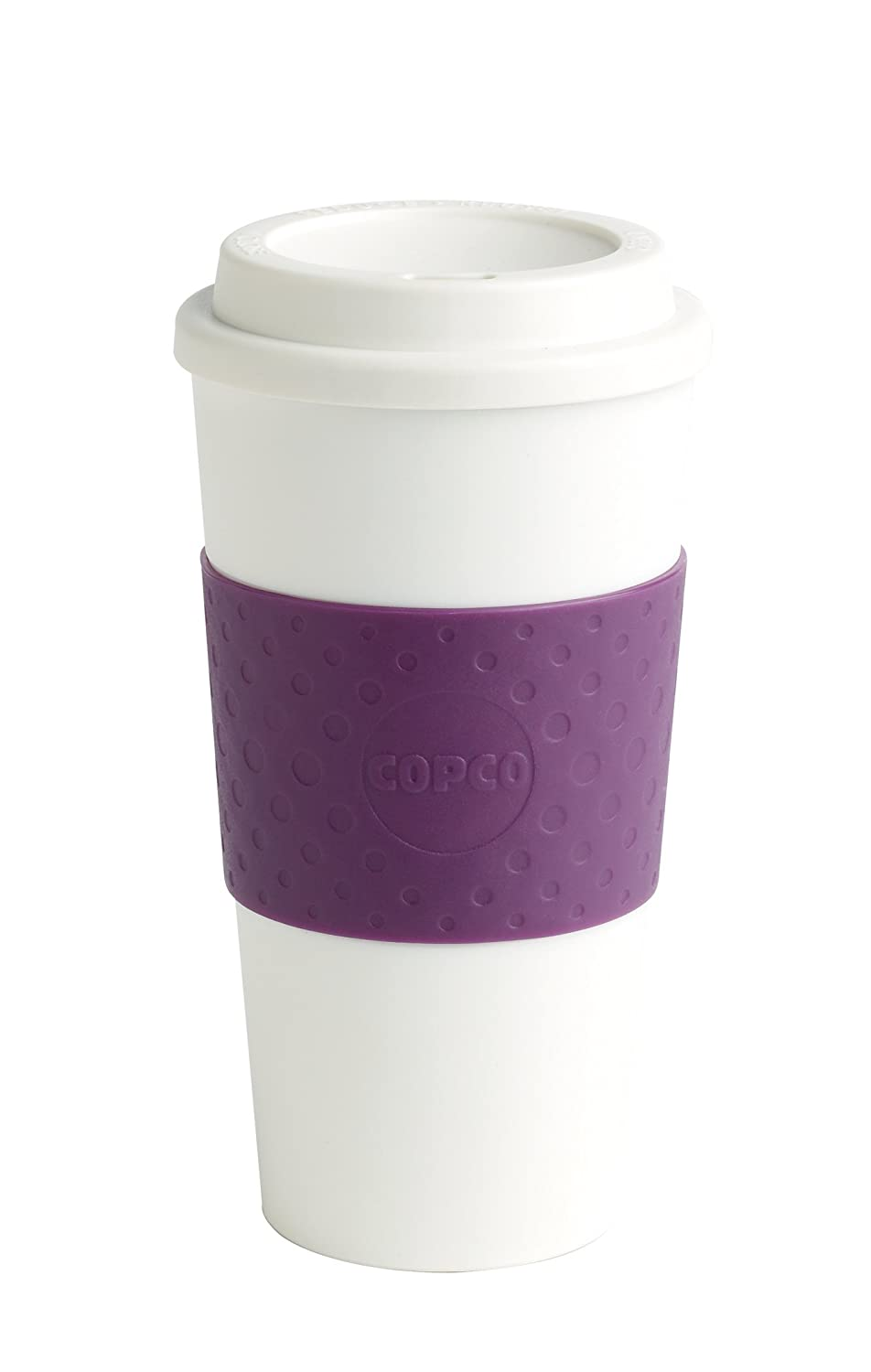 Copco Acadia Travel Mug, 16-Ounce, Plum