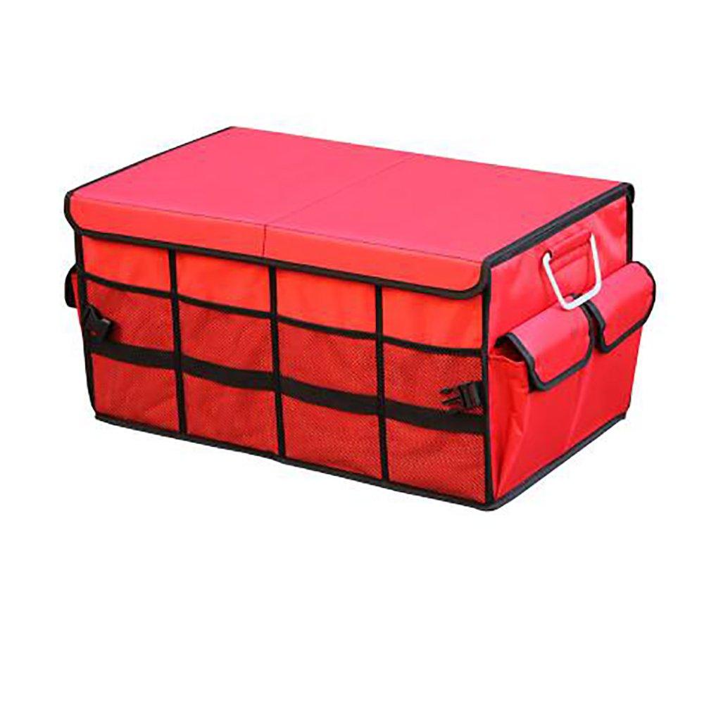 Housse pliable pour boîte de rangement de voiture avec 7couleurs 60*35*30cm