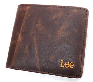 2cecdca647140d Amazon | Lee(リー) ブランド メンズ 財布 二つ折り イタリアンレザー ビンテージ感のあるワイルドなシリーズ プレゼントにも最適♪  (The Little) | 財布