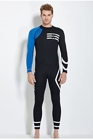JASZHAO 3MM Neopreno Buceo Wetsuit Hombre natación Trajes de ...