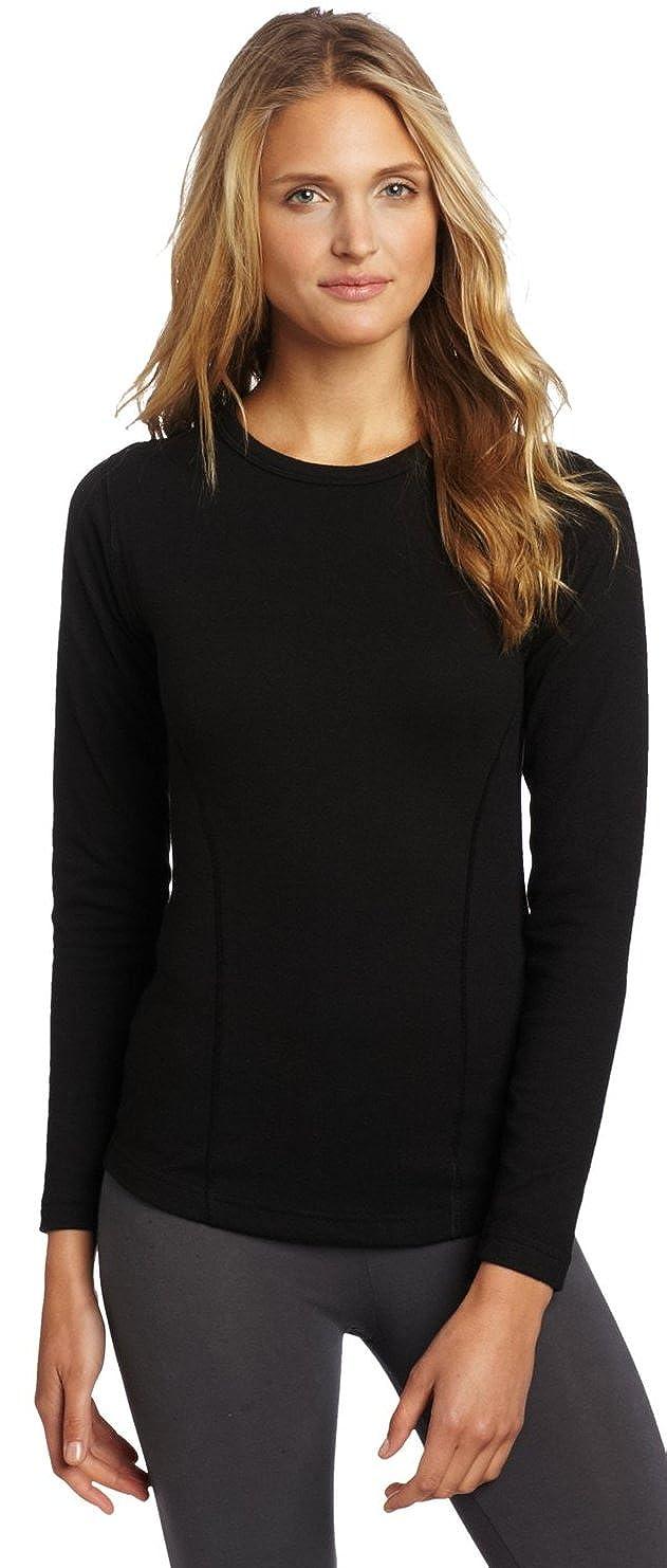 bb48d6c4 Amazon.com: Duofold by Champion Varitherm Women's Thermal Long-Sleeve Shirt  KEW3 S, Black: Clothing