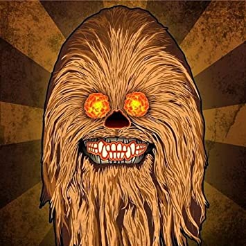 2 5 star wars chewbacca wookie sugar skull sticker decal jedi han solo