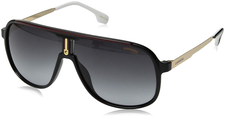 Carrera Men's 1007/s Aviator Sunglasses, Black, 62 mm CA1007S-0807-9O-6210