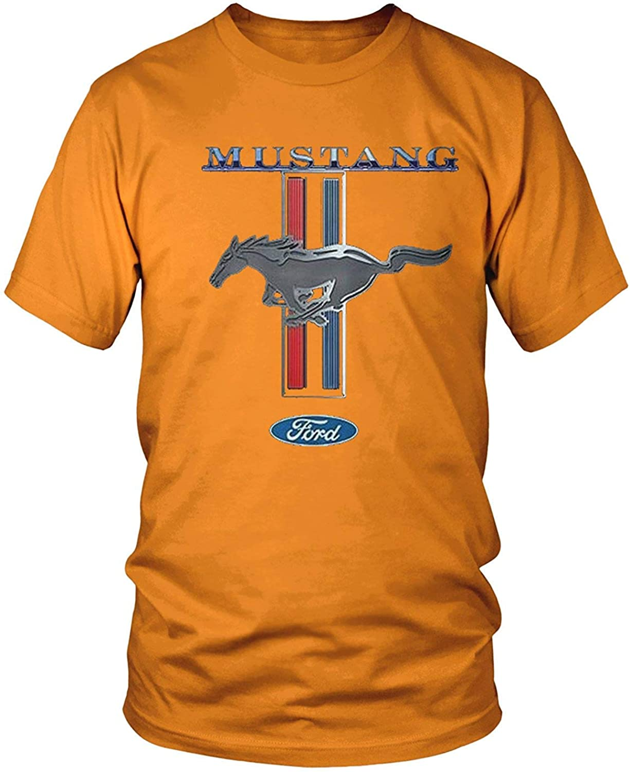 Mens Ford Mustang Logo Officially Licensed Ford Design T-Shirt