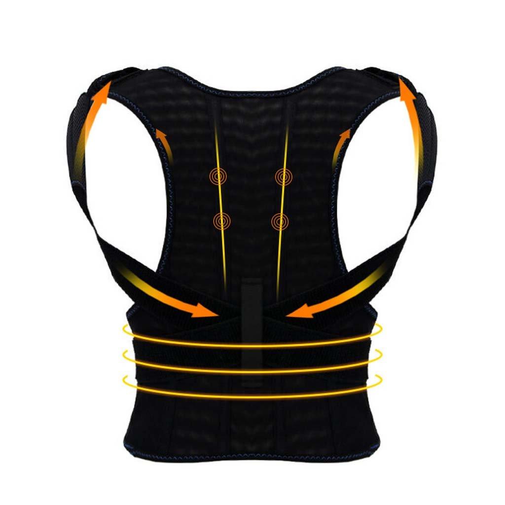 GAIHU Adjust Posture Corrector - Support Shoulder - Lumbar Support Straps For Men And Women,M