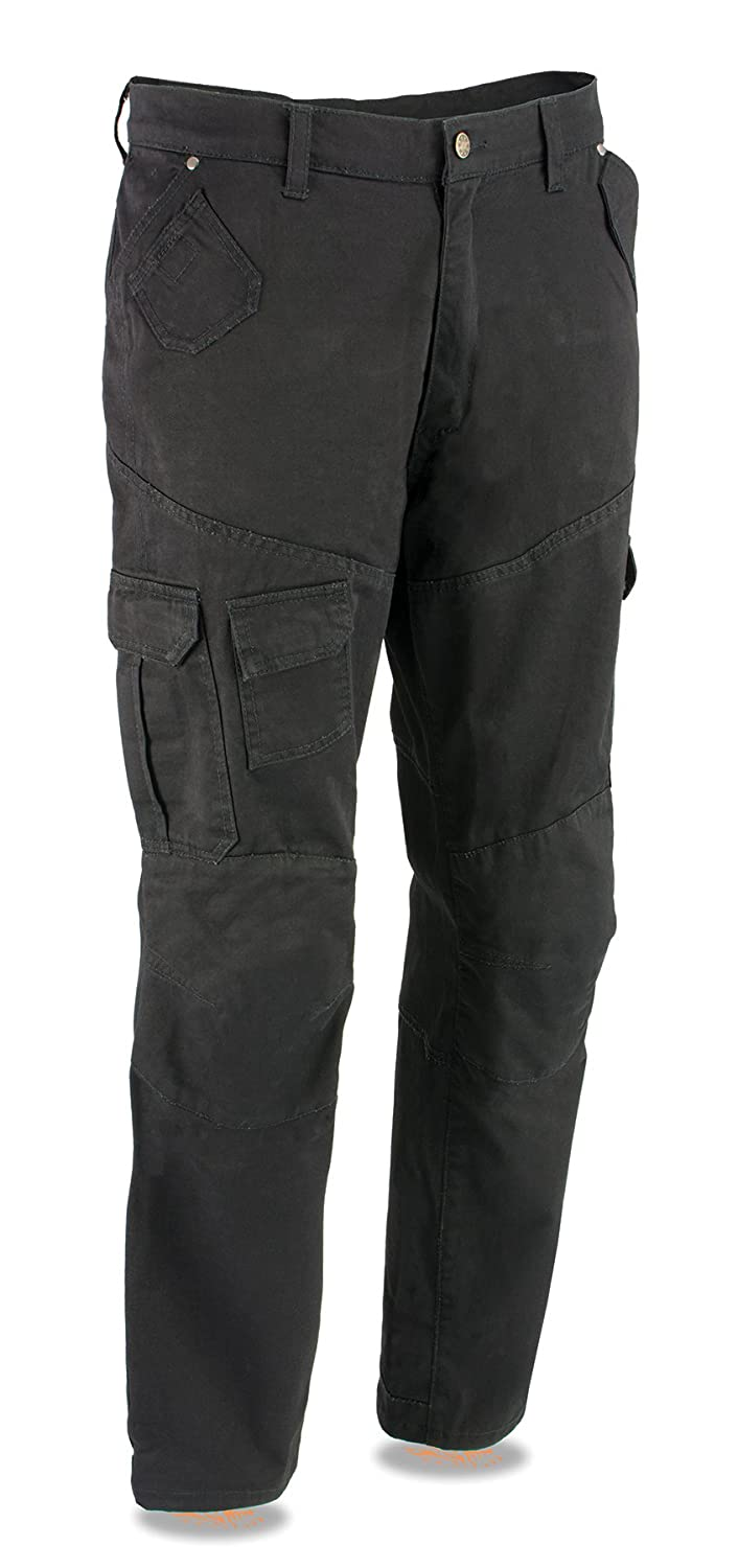 Milwaukee Performance MPM5591-BLACK-38 Men's Cargo Jeans Reinforced with Aramid by Dupont Fibers Black, 38