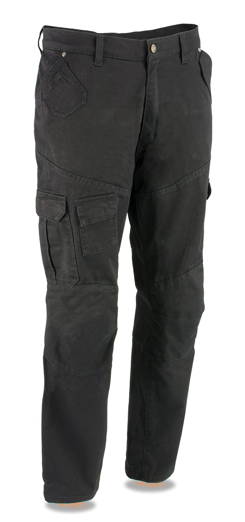 Milwaukee Performance Men's Cargo Jeans Reinforced with Aramid by Dupont Fibers-Black-28 (Black, 42)
