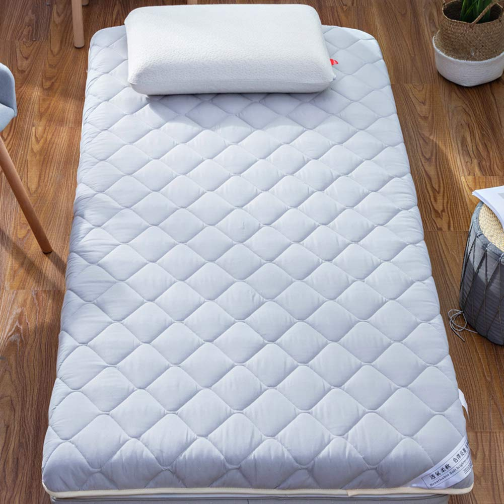 AMYDREAMSTORE Thicken Tatami Floor Mattress,Breathable Futon Tatami Mattress Pad Sleeping Breathable Floor Mat Portable Student Dormitory Mattress-b 150x190cm(59x75inch) by AMYDREAMSTORE