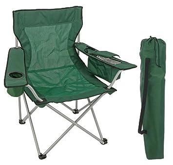Silla de camping con compartimento: Amazon.es: Deportes y ...