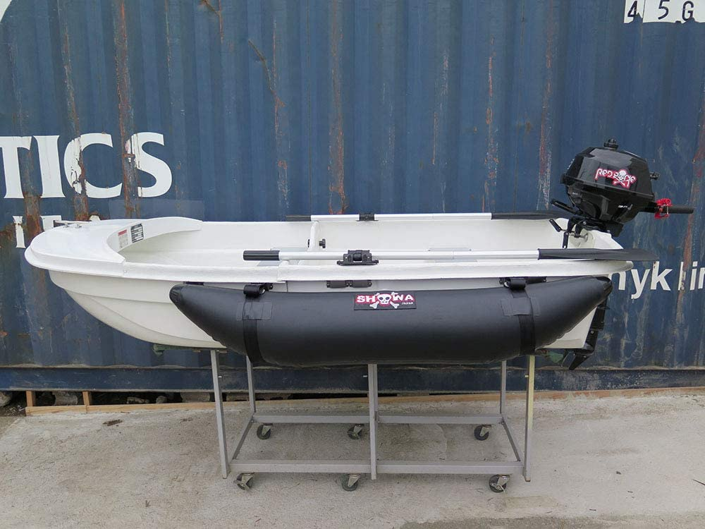 Exect familiar サイドフロート 左右セット ブラック Exect EX1500 ボート 釣り カヌー カヤック フィッシング