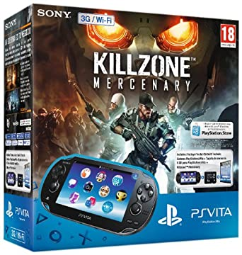 PlayStation Vita - Consola 3G + Killzone Mercenary + Tarjeta ...