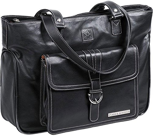 clark-mayfield-stafford-pro-leather-laptop-tote-156-black