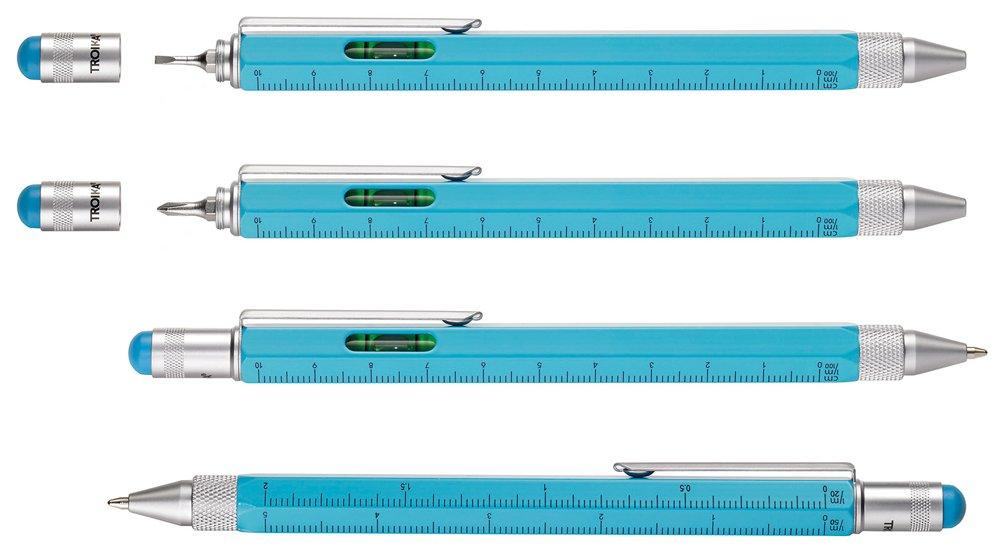 Troika PIP20  SI - Bol í grafo de punta redonda  (con regla y nivel ... ff4e9fee767