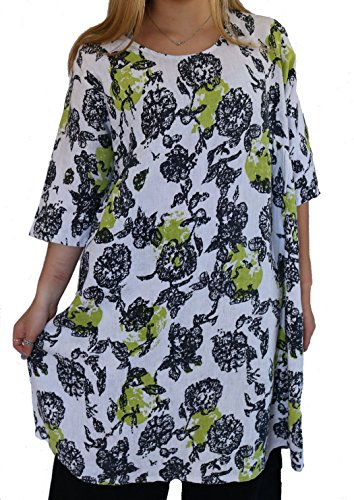 Citron Tunic - Snapdragon & twig Sunday Tunic - Citron