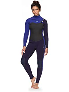 b9ae1180bc Amazon.com  Roxy Womens 3 2Mm Syncro Plus Chest Zip Wetsuit for ...