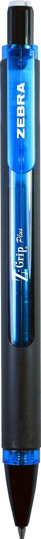 Black Barrel 12-Count Zebra Z-Grip Plus Mechanical Pencil 0.7mm