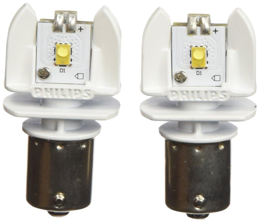 Philips 12898B2 1156 Bright White Vision Led Back-up Light, 2 Pack